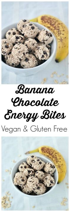Gluten-Free Banana Chocolate Energy Bites Recipe