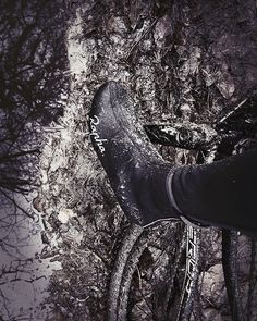 Photography by Frank Brandwijk I 'Keep Riding' 'Mountain Bike' 'Dirt' 'Mud Puddle' 'Rapha' 'Black and White' Riding Mountain, Mountain Biking, Fast Moving Consumer Goods, Tumblr Travel, Mud, Combat Boots, Bike, Black And White, Photography