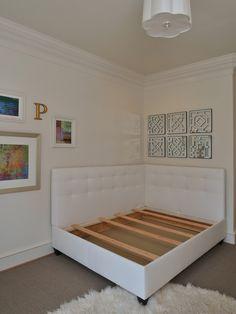 Corner bed.