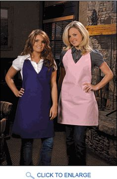 Distinct aprons are just one of the many uniform options you can choose to make your restaurant memorable. We offer no-pocket V-neck tuxedo aprons in a variety of colors to separate your wait staff from the competition. http://www.sharperuniforms.com/no-pocket-v-neck-tuxedo-aprons.html