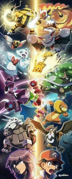Paul v ash sinnoh Pokemon Firered, Pokemon Eeveelutions, First Pokemon, Pokemon Comics, Pokemon Backgrounds, Cool Pokemon Wallpapers, Cute Pokemon Wallpaper, Animes Wallpapers, Pokemon Poster