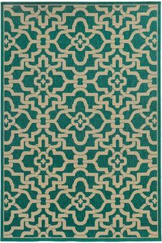In Orange, Escape Area Rug - Synthetic Rugs - Machine-made Rugs - Geometric Rugs - Modern Rugs - Contemporary Rugs - Indoor Outdoor Rugs | HomeDecorators.com