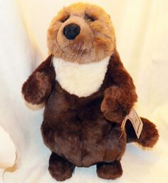 Vintage Dakin Lou Rankin Friends Artists Collection Oliver The Otter Plush 15 in #Dakin