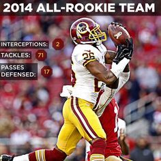 #Redskins CB Bashaud Breeland has been named to Gil Brandt's 2014 All-Rookie Team. Congrats, Bashaud! #HTTR
