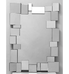 ESPEJO DECORATIVO MARCO ASIMÉTRICO, MODELO ES01 E 108 Mosaic Bathroom, Mirror Mosaic, Mirror Tiles, Mirror Art, Diy Mirror Decor, Dorm Storage, Mirror Inspiration, Small Space Living, Wall Design