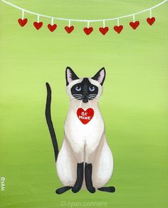 Siamese Valentine by Ryan Connors