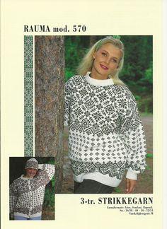 Rauma 570 Norwegian Knitting, Crochet Hooks, Fiber, Patterns, Sweaters, Outfits, Design, Women, Fashion