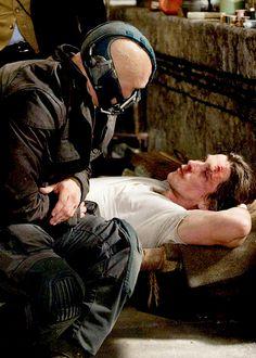 The Dark Knight Rises- Tom Hardy, Christian Bale