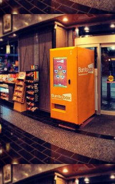 Will This Vending Machine For Burritos Change The Business Of Fast Food?