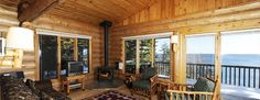 Lutsen Resort Cabin on Lake Superior, Lutsen Minnesota