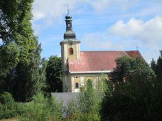 Kostel Nanebevzetí Panny Marie - Doubice - děčínsko - severní Čechy