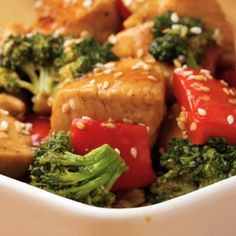 One-Pan Chicken And Broccoli Stir Fry Recipe by Tasty
