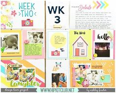 @ashleylaurabu created this colorful #projectlife layout using the #hkcexclusiveprojectlife cards & other goodies from our #june2016 #hipkits  @hipkitclub #hipkitclub #hipkit #scrapbooking #pocketscrapbooking #hkcexclusiveproducts @kjstarre @jillibeansoup #beanboard @americancrafts #currently #ephemera #puffystickers