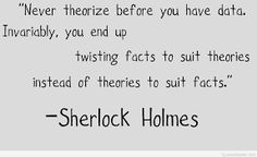 Image result for picture quotes sherlock holmes