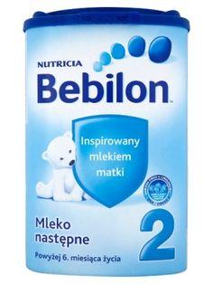 BEBILON 800g 2 Mleko Następne Powyżej 6 Miesiąca  • dla dzieci powyżej 6 miesiąca  • podwyższona zawartość wapnia • źródło błonnika i minerałów • zawiera tłuszcze roślinne