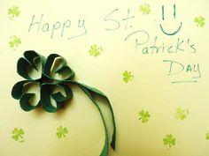 Tarjeta para St. Patrick´s Day #tarjeta #papel #tarjetería #San patricio #StPatrick'sDay http://abt.cm/1L5pC9N