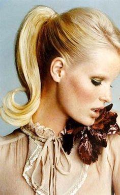 Barbie ponytail
