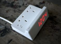 Alarm clocks with outlets built in!