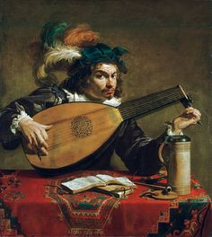 Theodoor Rombouts, A Lute Player,