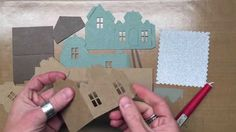 Designer Tim Holtz shares the basic assembly instructions for the Sizzix Alterations Village Dwelling... Check out the other Village videos: (Village Bell To...
