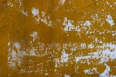 vintage yellow wall grunge background texture