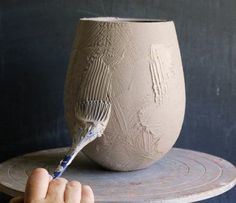 The Layered Surface The Layered Surface - Ceramic Arts Networ. - The Layered Surface The Layered Surface – Ceramic Arts Network-silicon pastry - Ceramic Decor, Ceramic Clay, Ceramic Vase, Ceramic Spoons, Porcelain Ceramics, Ceramic Techniques, Pottery Techniques, Glazing Techniques, Pottery Vase
