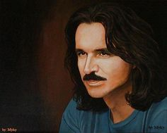 Beautiful painting of Yanni by Myky ~ uploaded with permission of artist Tour Around The World, Around The Worlds, Beautiful Paintings, Live Music, Touring, How To Find Out, Notes, Artist, Report Cards