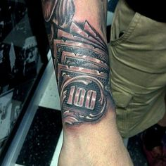 nice Top 100 money tattoos - http://4develop.com.ua/top-100-money-tattoos/ Check more at http://4develop.com.ua/top-100-money-tattoos/
