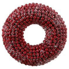 Jane Seymour Botanicals 9 in. Berry Unlit Wreath / Candle Ring ** You can get more details by clicking on the image.