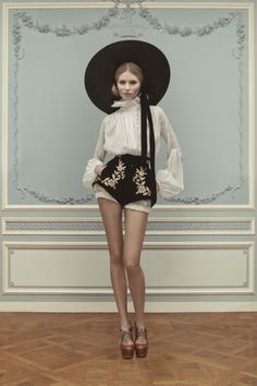 Ulyana Sergeenko Couture Spring/Summer 2013 Lookbook | Photographer: Nick Sushkevich
