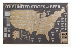 Beer Poster - 33 Books Co. Helping you explore craft beers from every state in America