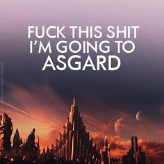 """I'm so going to post this on facebook when """"Thor:The Dark World"""" is finally at the cinema! xD"""