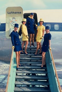 Lufthansa Promotional Photo, 1970's —