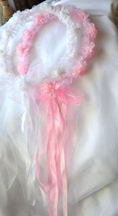 flower crown flower headband child wedding head by creatingwithni