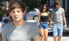 Louis Tomlinson holds hands with leggy girlfriend Danielle Campbell