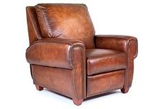 leather chair - perfect place to read a book