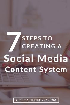 Learn how to create a social media content system that looks great and showcases your brand without too much effort on your end. via @onlinedrea