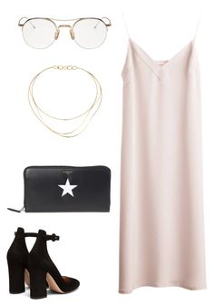 """Untitled #1860"" by kellawear on Polyvore featuring Gianvito Rossi, Givenchy, Thom Browne and Tiffany & Co."