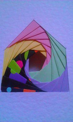 Iris Paper Folding - Pentagon
