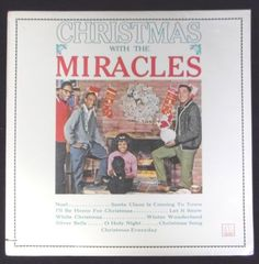 The-Miracles-LP-Christmas-With-The-Miracles-Soul-1981-Motown-5254ML