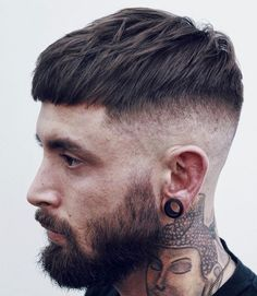 Cool Modern Haircuts For Men - Short French Crop with High…