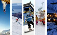 12 Months of Skiing, From Chile to China - Yes please!