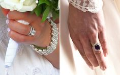 Princess Madeleine of Sweden engagement ring and Catherine's engagement ring
