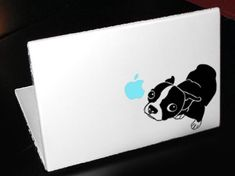 Boston terrier laptop decal want!