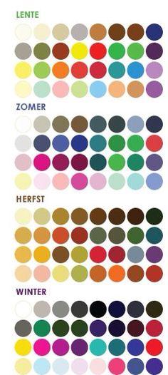 Ook willen weten welk seizoenstype je bent? Tijd voor een kleurenanalyse! Www.style-advisor.nl