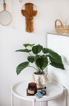 Trendy Home Decor, Diy Home Decor, Diy Interior, Artificial Plants, Potted Plants, Diy Tutorial, Drawer, Easy Diy, Diy Projects