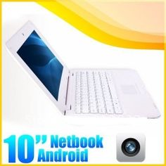 SOLID WHITE 10inch Laptop Notebook.............
