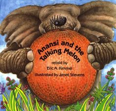Cover image for Anansi and the talking melon [CD/Book]