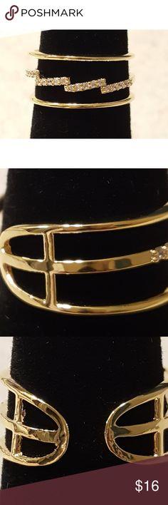 0b8c7eeb05853 Dainty Gold Ring Very feminine gold tone ring