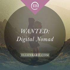 Do You Have The Right Personality To Be A Digital Nomad? | ellenbard.com  http://ellenbard.com/personality-digital-nomad/